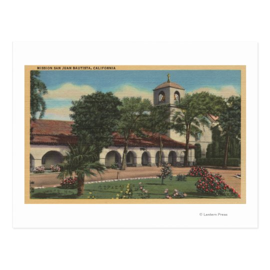 Postal Misión San Juan Bautista, California