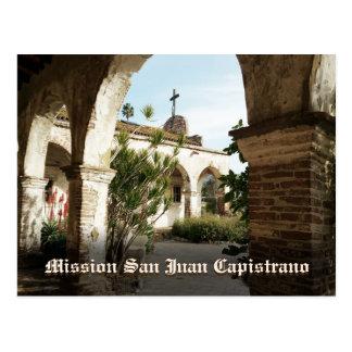 Postal Misión San Juan Capistrano