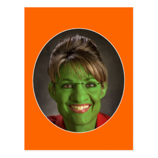 Postal ¡Mismo un Palin Halloween!
