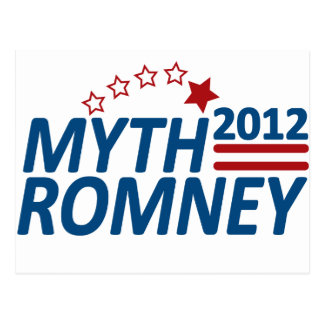 Postal Mitón anti 2012 de Romney del mito