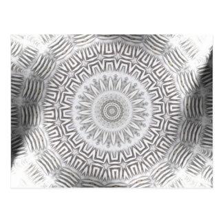 Postal Modelo de Kaleido del elemento del METAL