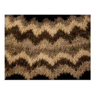 Postal Modelo islandés de las lanas