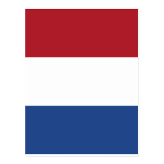 Postal Modelo patriótico de Netherland Holanda
