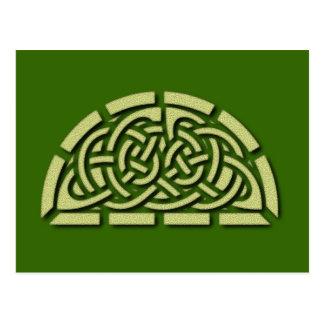 Postal modelos celta celtic pattern