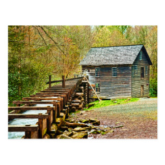Postal Molino de Mingus, Great Smoky Mountains