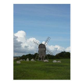 Postal Molino de viento