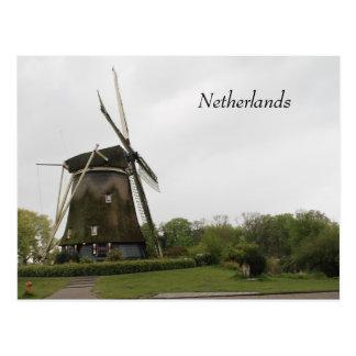 Postal Molino de viento, Holanda, Países Bajos,