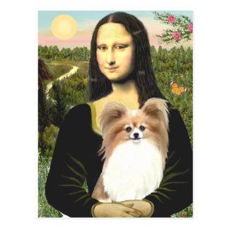 Postal Mona Lisa - Papillon 4