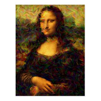 Postal Mona Lisa París