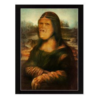 Postal Mona Rilla aka Mona Lisa