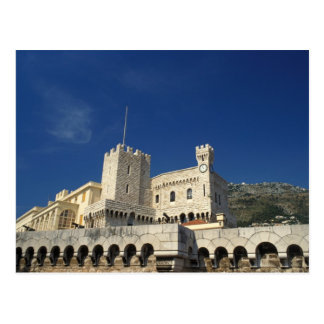 Postal Mónaco, Cote d'Azur, el palacio del príncipe