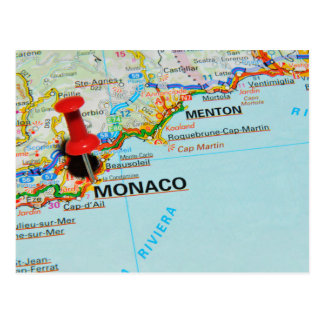 Postal Mónaco, Monte Carlo