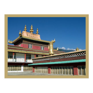 Postal Monasterio budista tibetano