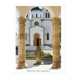 Postal Monasterio de Bistrita