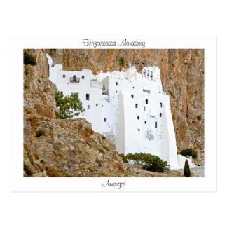 Postal Monasterio de Hozoviotissa - Amorgos