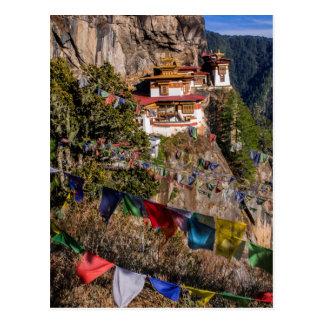 Postal Monasterio de la jerarquía del tigre, Bhután
