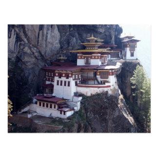 Postal Monasterio de Taktshang, Paro, Bhután