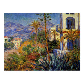 Postal Monet - chalets en Bordighera