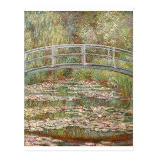 Postal ~ Monet de los lirios de agua