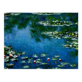 Postal Monet - lirios de agua, 1906