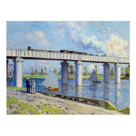 Postal Monet - puente ferroviario en Argenteuil