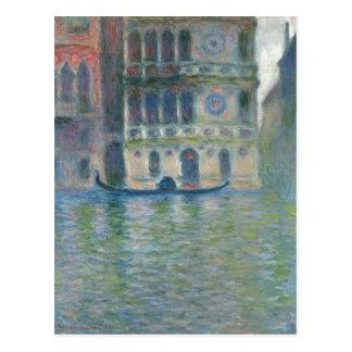 Postal Monet sumario, Claude Palazzo Darío, Venecia 1908