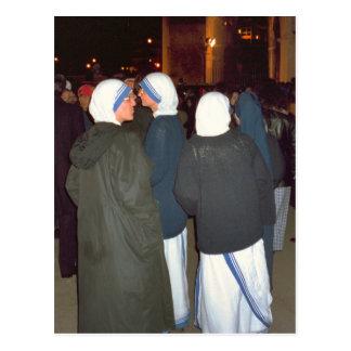 Postal Monjas de la orden de la madre Teresa