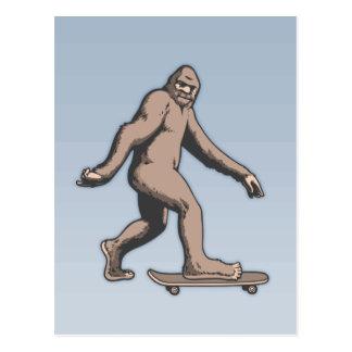 Postal Monopatín de Bigfoot