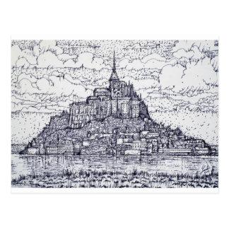 Postal mont santo-Miguel