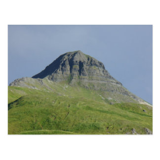 Postal Montaña de la pirámide, isla de Unalaska