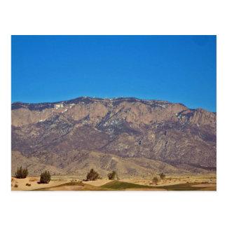 Postal Montaña de Sandia, Albuquerque New México 2