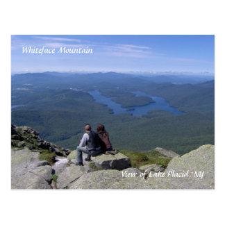Postal Montaña de Whiteface/postal del Lake Placid