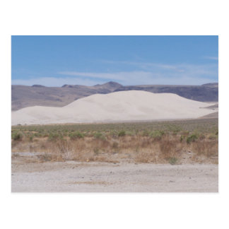 Postal Montaña Fallon, Nevada de la arena