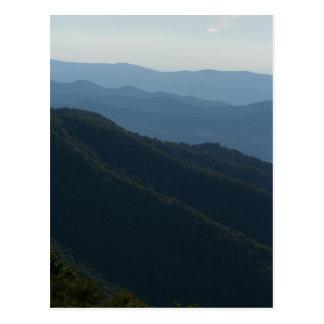 Postal Montañas de Shenandoah