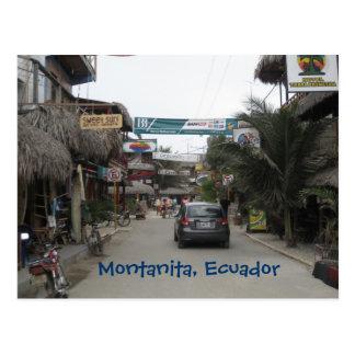 Postal Montanita, Ecuador