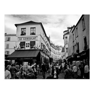 Postal Montmartre, París