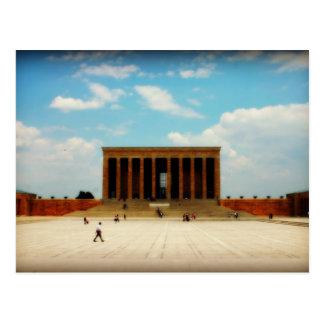 Postal Monumento de Ataturk en Ankara