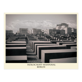 Postal monumento de holocausto Berlín