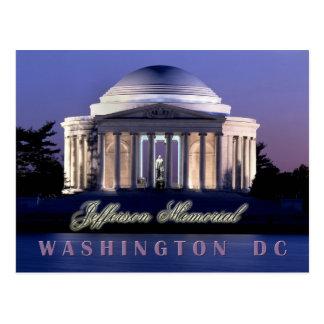 Postal Monumento de Thomas Jefferson, Washington, C.C.
