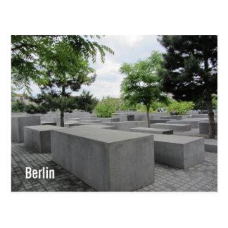 Postal Monumento del holocausto de Berlín