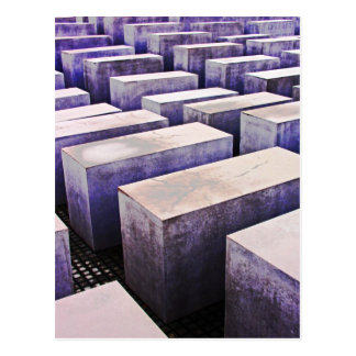 Postal Monumento del holocausto (Denkmal), Berlín, color