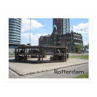 Postal Monumento para los emigrantes holandeses