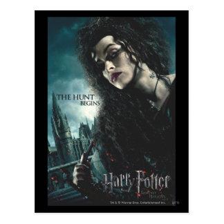 Postal Mortal santifica - Bellatrix Lestrange 2