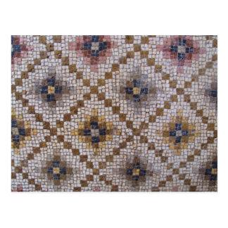 Postal Mosaicos bizantinos romanos de Antioquía