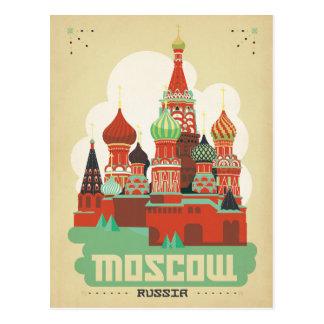 Postal Moscú, Rusia