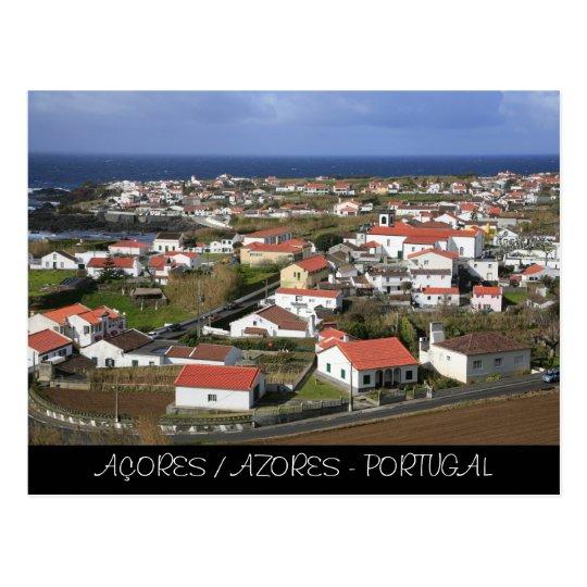 Postal Mosteiros - Azores