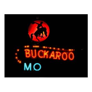 Postal Motel del Buckaroo, Tucumcari, New México