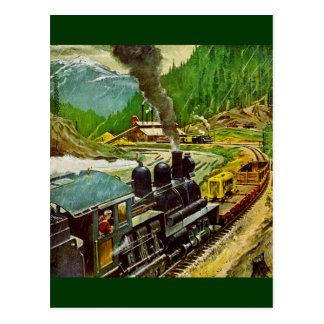 Postal Motor de vapor