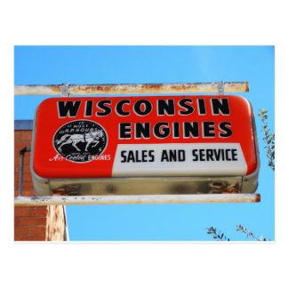 Postal Motores de Kingman Wisconsin de la ruta 66 de la