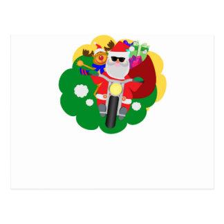 Postal Motorista Santa